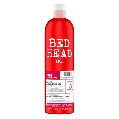 TIGI Bed for Very Dry and Damaged Hair Head Urban Antidotes Resurrection Repair Conditioner-750ml