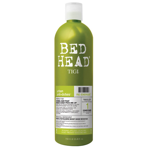 TIGI Bed for Normal Hair Head Urban Antidotes Re-energize Daily Conditioner-750ml