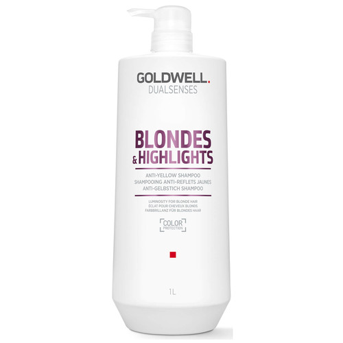 Goldwell Dualsenses Blonde and Highlights Anti-Yellow Shampoo-1000ml