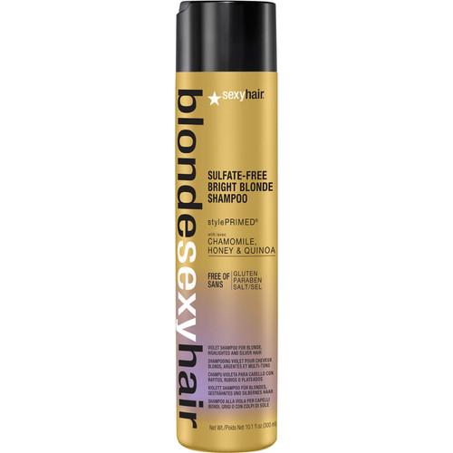 Sexy Hair Blonde Bright Blonde Violet Shampoo-300ml