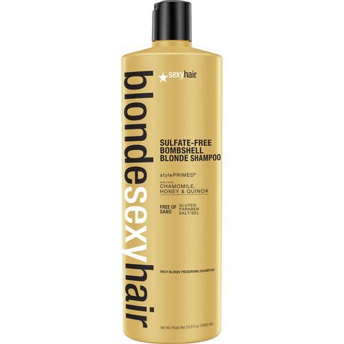 Sexy Hair Blonde Bombshell Blonde Shampoo-1000ml