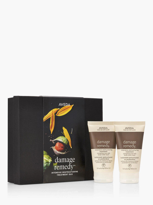 Aveda Duo Haircare Gift Set Damage Remedy Hair Repair Intensive Restructuring Treatment