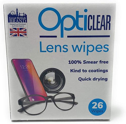 Opticlear Wipes- 156 Wipes