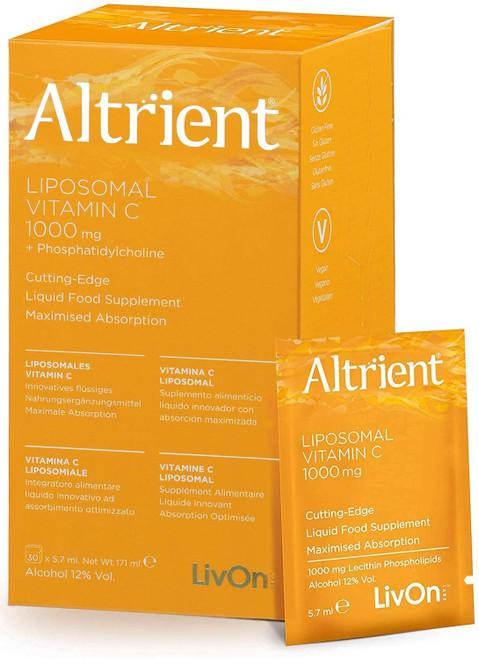 Altrient C Liposomal Vitamin C Lypospheric Lypo Spheric Vitamin C Vitamin C-1000mg