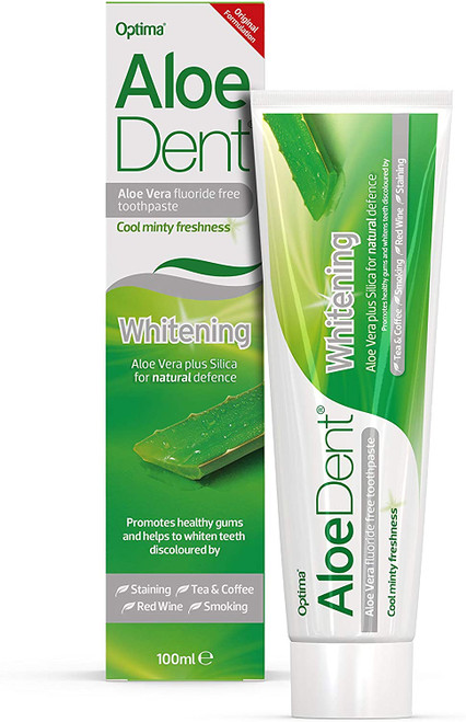 Aloedent Aloe Vera Toothpaste for natural defence - 100 ml