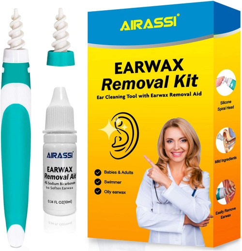 Airassi Earwax Removal Set for Effective Removal System