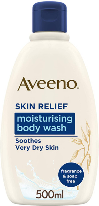 Aveeno Skin Moisturising Body Wash For Very Dry And Irritable Skin Care - 500ml