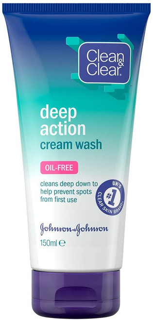 Clean & Clear  Oil Free Face Wash - 150 ml