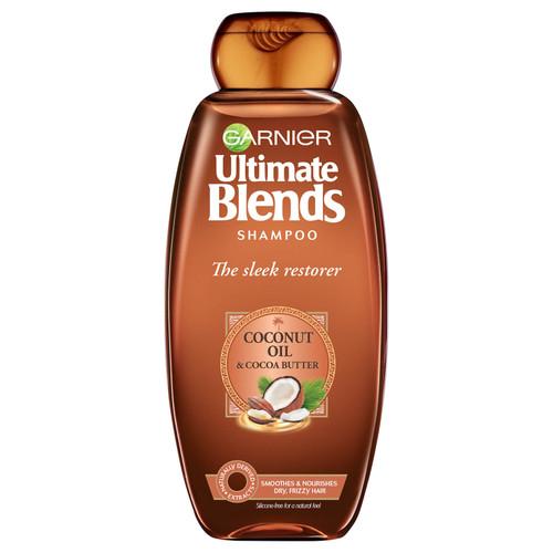 Garnier Ultimate Blends Coconut Oil Frizzy Hair Shampoo-360ml