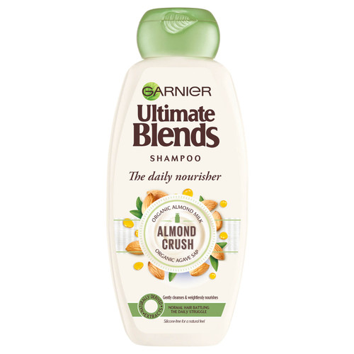 Garnier Ultimate Blends Almond Milk Normal Hair Shampoo-360ml