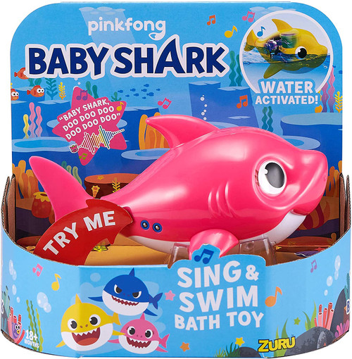 Baby Shark Sing and Swim Bath Toy by Zuru