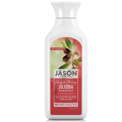 JASON Long & Strong Jojoba Shampoo-473ml