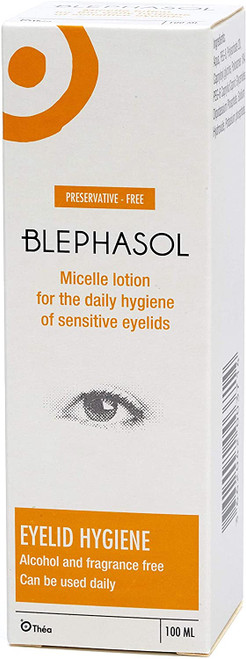 Blephasol Daily Hygiene Eyelids Eye Lotion - 100 ml