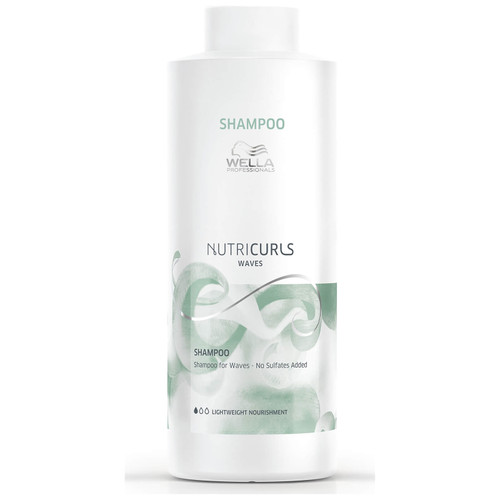 Wella Professionals Nutricurls Shampoo for Waves-1000ml