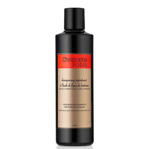 Christophe Robin with Prickly Pear Oil Regenerating Shampoo-250ml