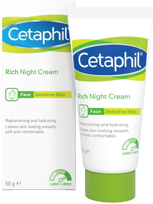 Cetaphil Rich Night Moisturise For All Skin Types - 50g