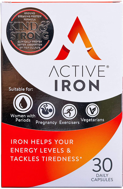 Active Iron Strong Iron Supplement For Strengthening Immune System