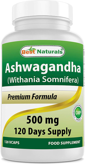 Best Naturals Ashwagandha Mind supports Relaxation Supplement - 500 mg