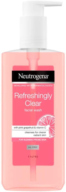 Neutrogena Grapefruit and Vitamin C Refreshingly Clear Facial Wash - 200ml