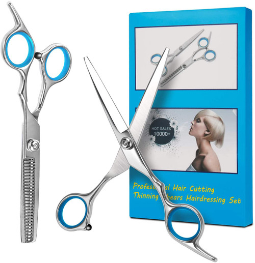 Bubuxy Professional Hair Cutting Hair Scissors Kit