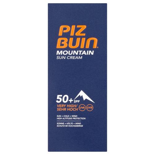 Piz Buin Mountain Sun Cream SPF50+ Very High-50ml