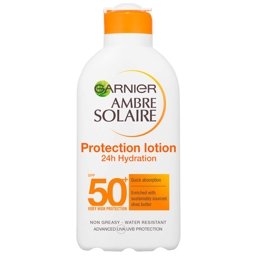 Ambre Solaire SPF50 Ultra-Hydrating Shea Butter Sun Protection Cream-200ml