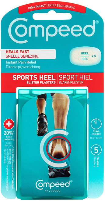 Compeed Sports 5 Heel Blister Plasters