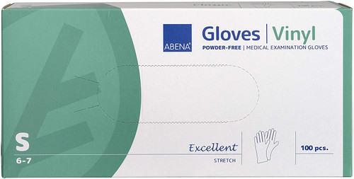 Abena Synthetic Stretchable Small Gloves - Pack of 100