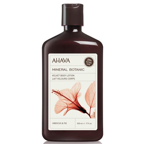 AHAVA Hibiscus and Fig  Mineral Botanic Velvet Body Lotion-500ml