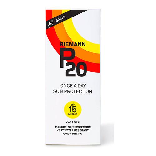 Riemann P20 SPF15 Once a Day Sun Protection Spray-200ml