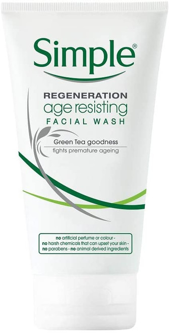 Simple Regeneration Age Resisting Facial Wash-150ml
