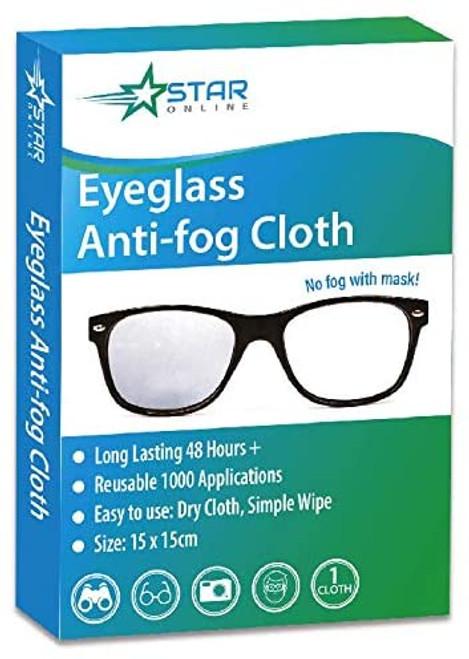 Star Online Anti-Fog Eyeglass Cleaning Cloth