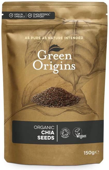 Green Origins Chia Seeds - 150g