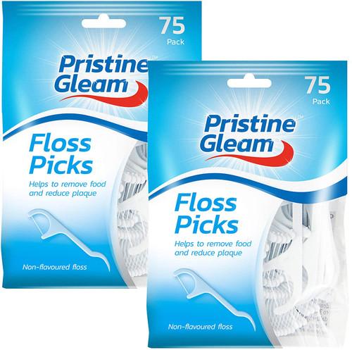 Pristine Gleam Tooth Dental Floss Picks