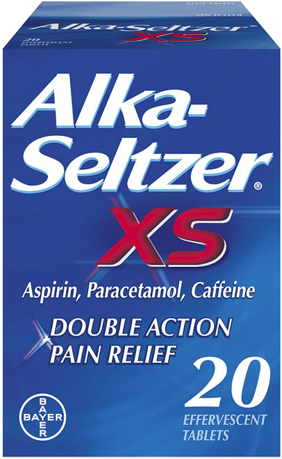 Alka Seltzer Double Action Pain Relief Tablets