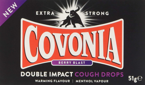 Covonia Double Strong Berry Blast Cough Lozenges