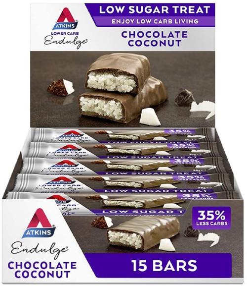 Atkins Low Sugar Keto Chocolate Bar Snacks
