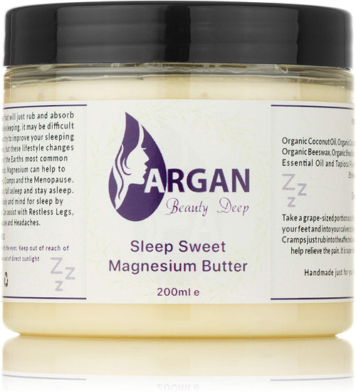 Argan Beauty Night Time Magnesium Body Butter
