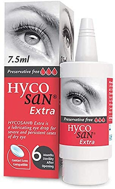 Hycosan Preservative Free Eye Drops