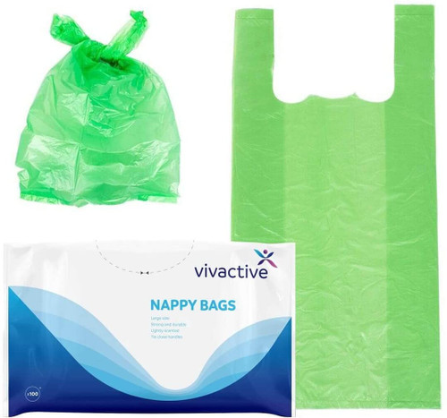 Vivactive Extra Large Nappy Disposal Bags Pack