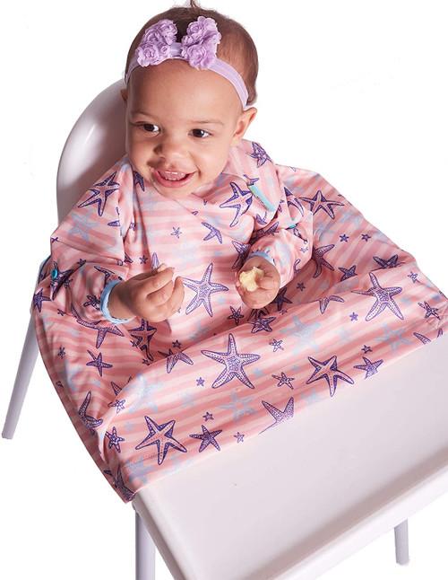 BIBaDO Long Sleeves And Waterproof Baby Bib