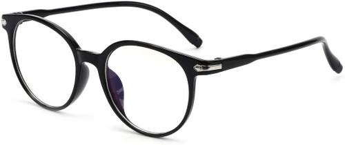 WONOLO Black Frame Fashionable Blue Light Blocking Glasses