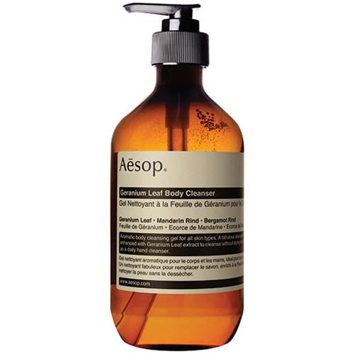 Aesop Geranium Leaf Body Cleanser Gel and Shower gel-500ml