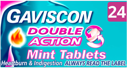 Gaviscon Indigestion Double Action Mint Tablets