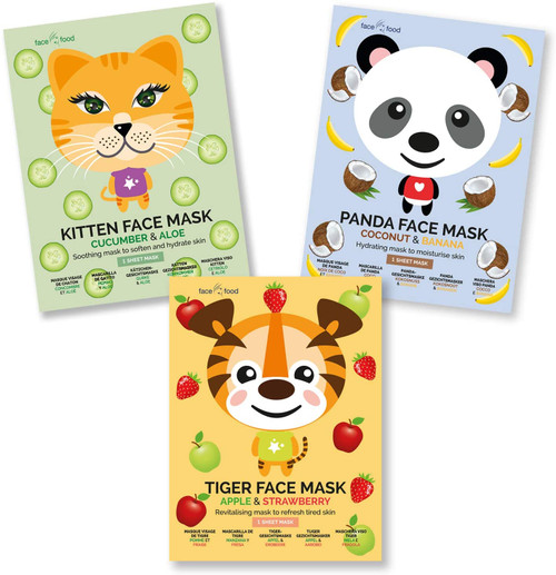 Face Food Party Animals Face Sheet Mask