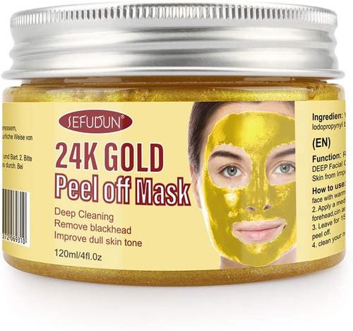 24k Gold Blackhead Remover Face Mask
