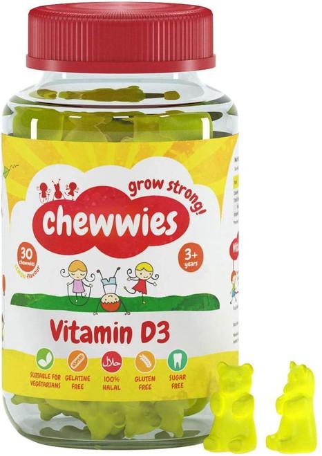Chewwies Healthy Growth Vitamin D Gummies