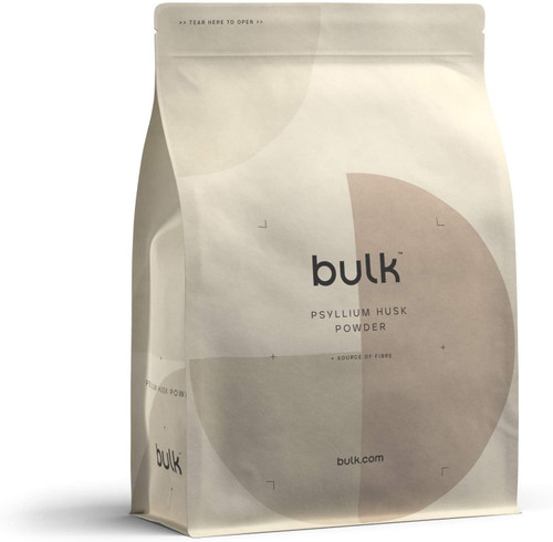BULK POWDERS High Fibre Pure Psyllium Husk Powder