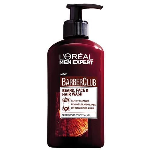 L'Oréal Paris Men Expert 3-in-1 Barber Club Wash-200ml