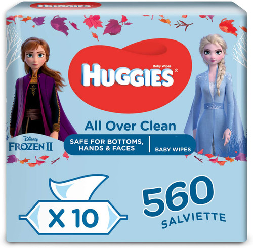 Huggies All Over Body Clean Baby Wipes